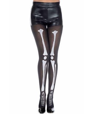Skeleton Print Pantyhose - Music Legs 37647](Skeleton Pantyhose)