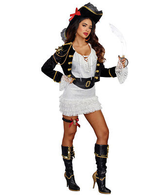 Holy Ship Sexy Pirate Costume - Dreamgirl 10635 - Dream Girl Pirate Costume