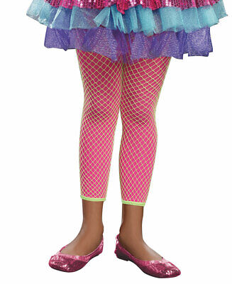 Lime And Hot Pink 3-In-1 Girl Leggings - Dreamgirl 9598