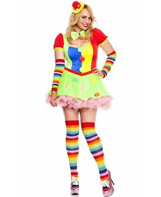 New Music Legs 70471Q Plus Size Big Top Babe Costume