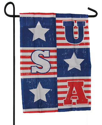 Fourth Of July Banner (USA STARS FOURTH 4TH OF JULY GARDEN BANNER/FLAG 12