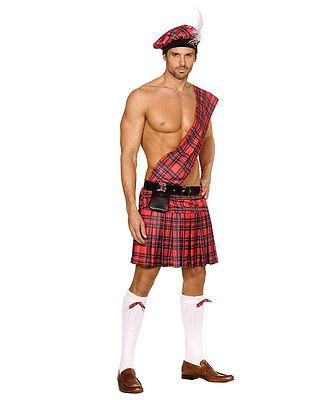 New Dreamgirl 5084 Scottish Kilt Adult Costume