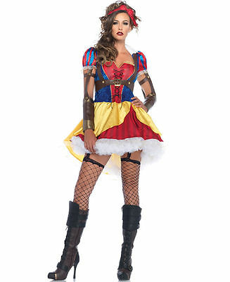 Rebel Costumes (Rebel Snow White Costume for Adults Size S & M New by Leg Avenue)
