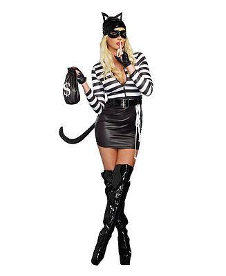 New Dreamgirl 9965 Cat Burglar Sexy Womens Costume (Burglar Costume Womens)