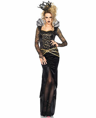 Deluxe Evil Queen Costume for Women (all sizes) New by Leg Avenue 85462