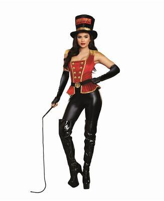 New Dreamgirl 11130 Flirty Lion Tamer Circus Costume