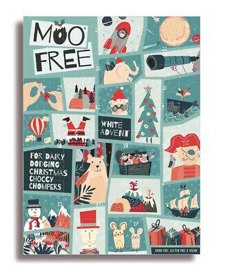 MOO Free - Dairy Free & Vegan Advent Calendar - White Chocolate 70g