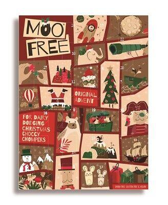 Moo Free Kids Milk Alternative Advent Calendar 70g - Dairy Free Chocolates