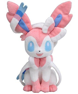 Pokemon Sylveon (Nymphia) Plush Doll Figure Toy Xmas Gift 10 inch