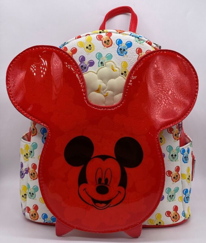 Disney Parks Loungefly Mickey Mouse Popcorn Bucket Scented Mini Backpack 2021