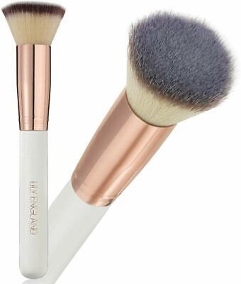 Lily England Kabuki Brush for Foundation. Best Flat Top Foundation Brush