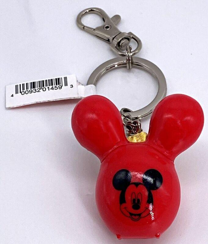 Disney Parks Mickey Mouse Popcorn Bucket Balloon Keychain WDW - NEW