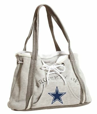 Dallas Cowboys Authentic Ladies Embroidered Hoodie Sling Bag Purse Handbag NWT