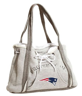 New England Patriots Ladies Embroidered Hoodie Sling Bag Purse Handbag NFL NWT