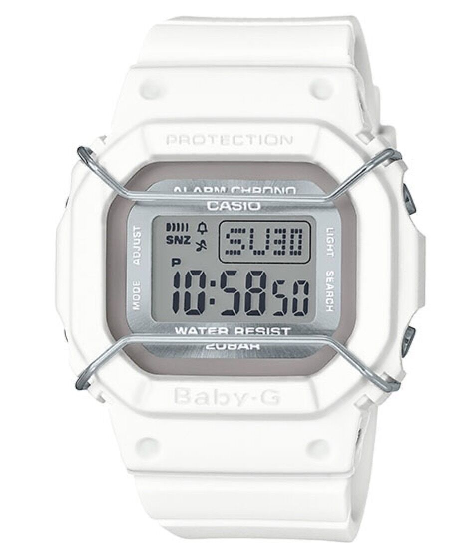 Casio Baby-G * BGD501UM-7 Urban Miitary White Digital Watch Women COD PayPal