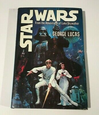 Vintage Hard Back STAR WARS Book Club Edition 1970s With Pictures Nice Book .
