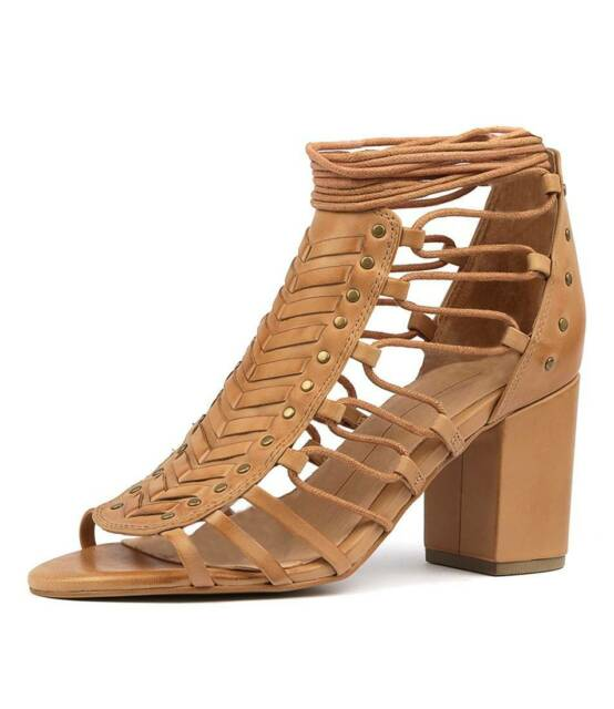 9e02dbe3060 Mollini Kamarin Tan Leather Women's Heel Size 39 | Women's Shoes ...