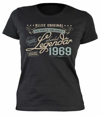 Allen Allen Damen Kleidung (Damen T-Shirt  Alles Original Zur Perfektion gereift Absolut Legendär 1969 )