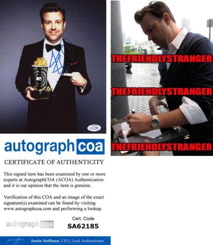 JASON SUDEIKIS signed Autographed 8X10 PHOTO c PROOF - FUNNY Ted Lasso ACOA COA