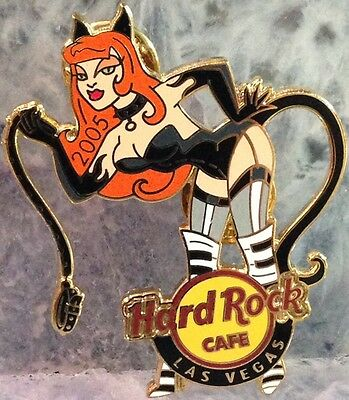 Hard Rock Cafe LAS VEGAS 2005 HALLOWEEN PIN Sexy Devilish Kitty Cat Girl #29599 - Vegas Halloween Girls