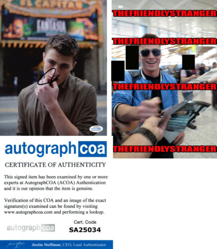 COLTON HAYNES signed Autographed 8X10 PHOTO a PROOF - Sexy ARROW Arsenal ACOA