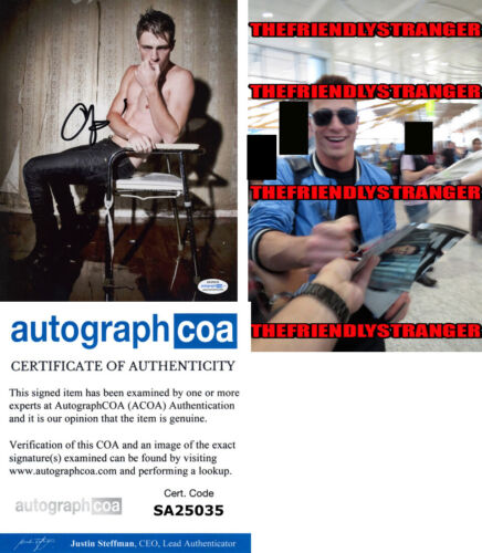 COLTON HAYNES signed Autographed 8X10 PHOTO b PROOF - Sexy ARROW Arsenal ACOA