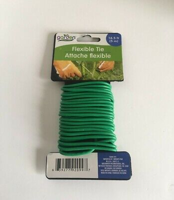 Garden SOFT FLEXIBLE PLANT TIE BENDY SUPPORT WIRE TWINE CABLE -