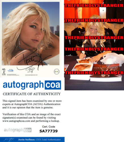 BROOKE HOGAN signed Autographed 8X10 PROMO PHOTO d PROOF HOT Hulk Hogan ACOA COA