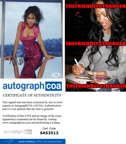 MEAGAN GOOD signed Autographed 8X10 PHOTO h PROOF Hot SEXY The Intruder ACOA COA