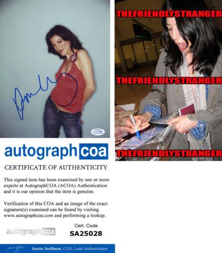 JAIME MURRAY signed Autographed 8X10 PHOTO n PROOF - Hot SEXY Dexter ACOA COA