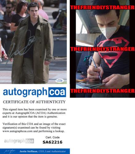 "JOSHUA ORPIN signed ""TITANS"" 8X10 Photo PROOF - Conner SUPERBOY - ACOA COA"