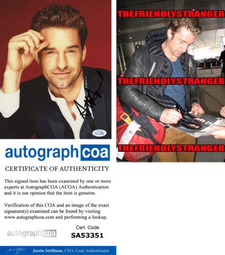SCOTT SPEEDMAN signed Autographed 8X10 Photo PROOF e HOT Grey's Anatomy ACOA COA