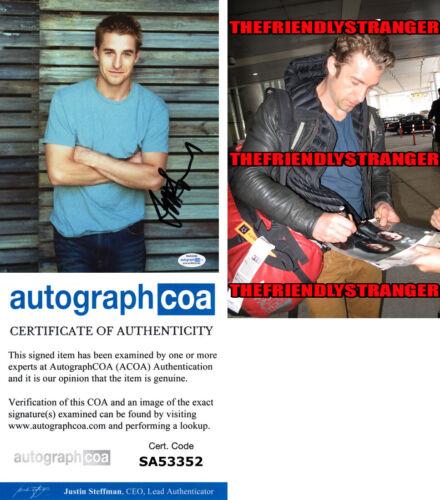 SCOTT SPEEDMAN signed Autographed 8X10 Photo PROOF f HOT Grey's Anatomy ACOA COA