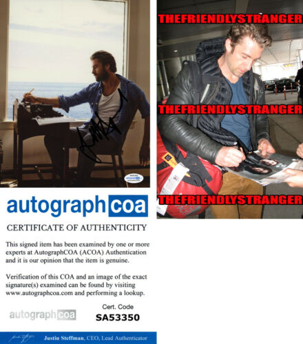 SCOTT SPEEDMAN signed Autographed 8X10 Photo PROOF d HOT Grey's Anatomy ACOA COA