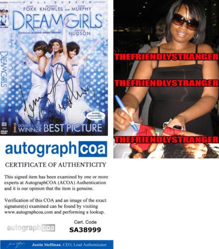 "JENNIFER HUDSON signed Autographed ""DREAMGIRLS"" DVD COVER - PROOF - ACOA COA"