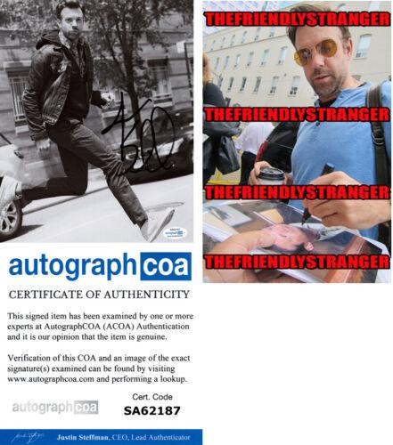 JASON SUDEIKIS signed Autographed 8X10 PHOTO d PROOF - FUNNY Ted Lasso ACOA COA