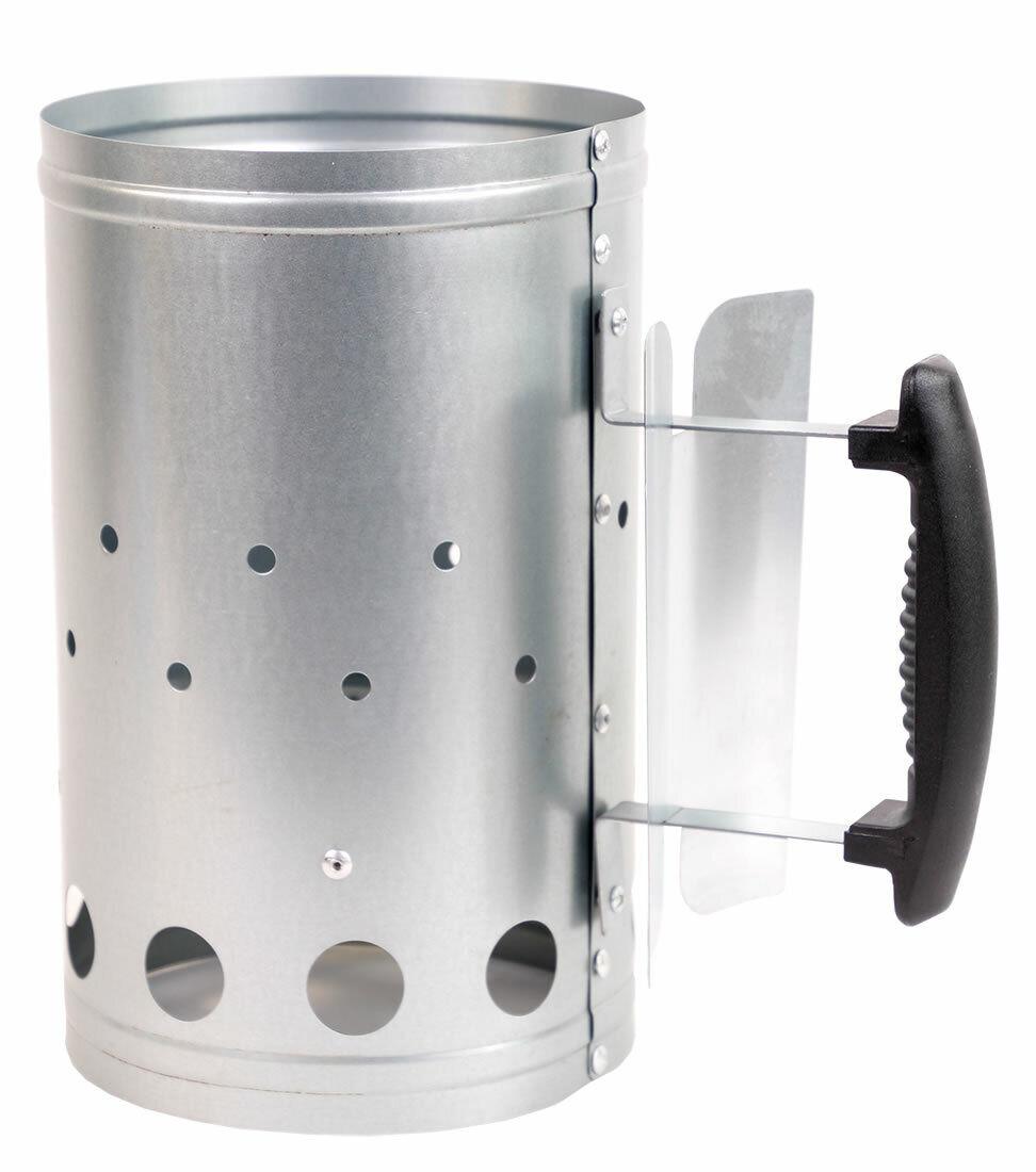 Anzündkamin XL Kohlestarter Grillanzünder Grillstarter Grill Kamin BBQ