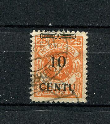 Memel   Nr. 169AIII gestempelt. Tiefst geprüft Huylmans  (D-366)