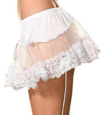 Beautiful Angel Costumes (Angel Petticoat Sexy Halloween Costumes Adult Womens Beautiful White One)