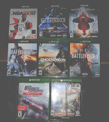 xbox one games lot