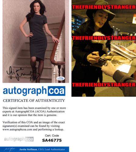 JAIME MURRAY signed Autographed 8X10 PHOTO p PROOF - Hot SEXY Dexter ACOA COA