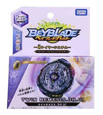 Takara Tomy Beyblade BURST B-102 Booster Twin Nemesis.3H.UI