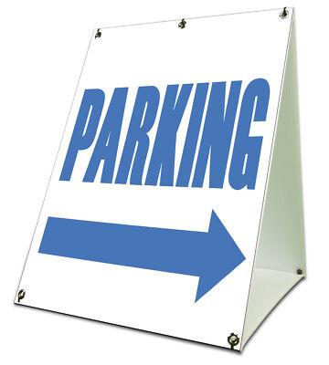 Parking Sidewalk A Frame 18x24 Outdoor Parking Sign