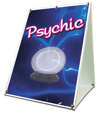 Psychic Sidewalk A Frame 18x24 Outdoor Vinyl Retail Sign