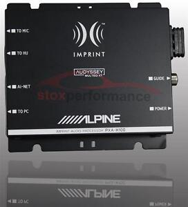 Alpine PXA-H100 Car Audio Sound Processor Electronic Crossover Stereo IMPRINT