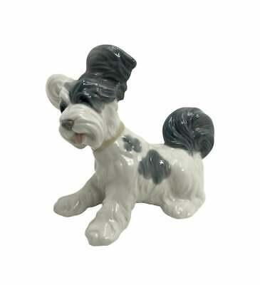 "Lladro ""Skye Terrier"" Dog Porcelain Figure #4643"