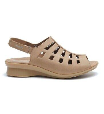 Mephisto Nubuck Sandals - $294 MEPHISTO Peggie Comfort sandals Natural Brown Nubuck sz 38