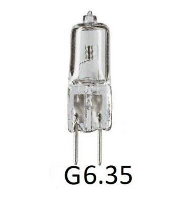Halogen Capsule Bulb Lamp Bi-Pin 6V 12V 220V G6.35 Base JC Light Bulb 50W 100W