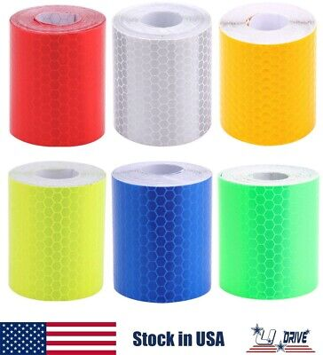 3m Car Truck Reflective Safety Warning Self-adhesive Roll Tape Sticker Decal