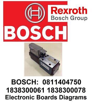 Bosch 1838300061 1838300078 0811404750 Solenoid Servo Valve Electronics Diagram